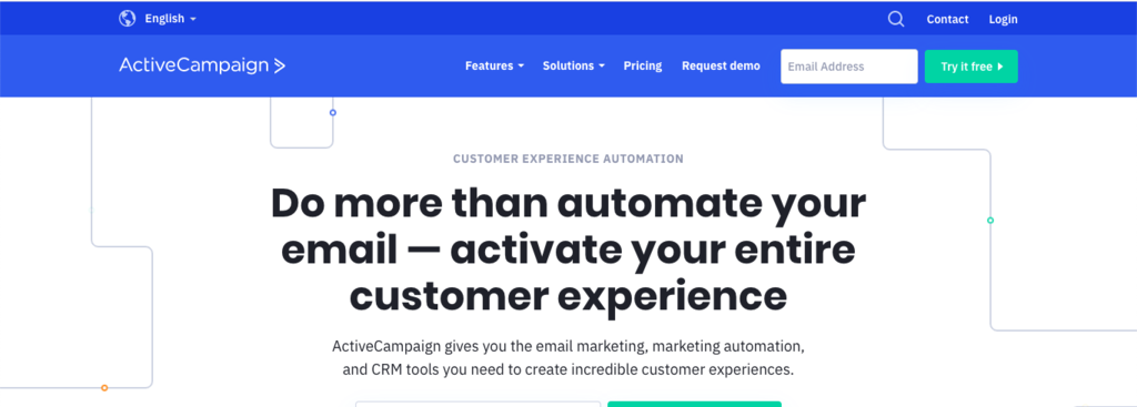 ACTIVE CAMPAIGN CRM SOFTWARE