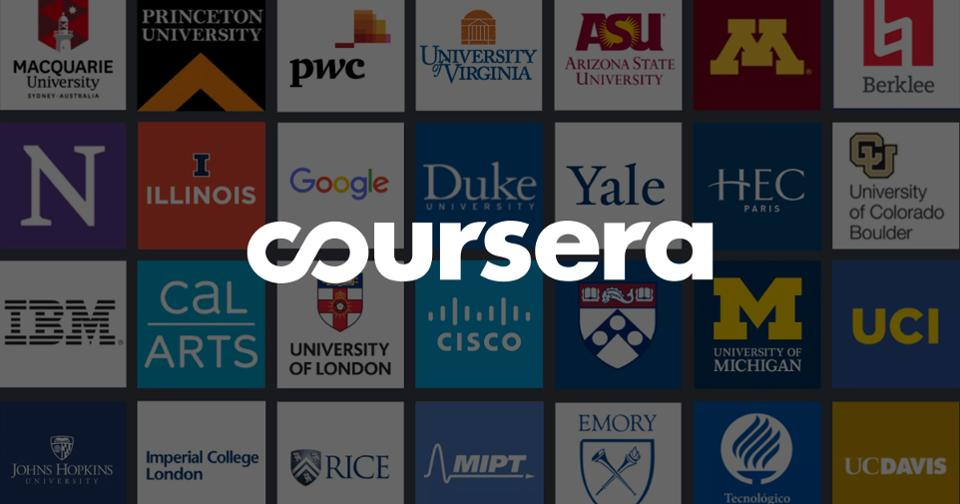 COURSERA - 10 BEST ELEARNING PLATFORMS FOR ONLINE LEARNING IN 2020
