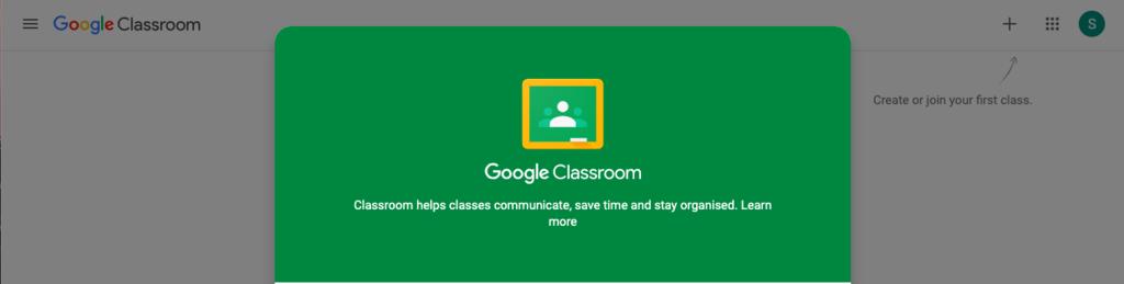 GOOGLE CLASSROOM - E-LEARNING PLATFORM