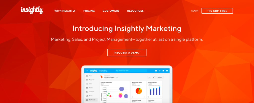 INSIGHTLY CRM MARKETING