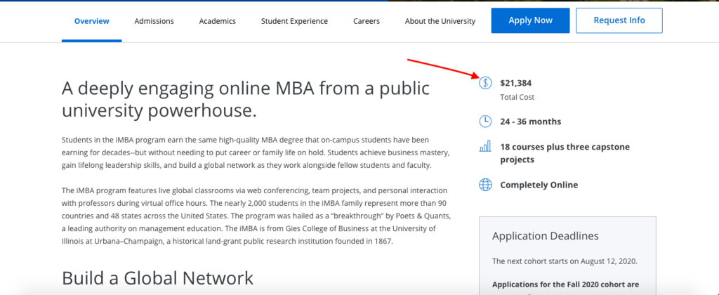 Online MBA on one of 10 best eLearning Platforms for online Learning in 2020